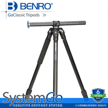 Benro GoClassic Tripods SLR Professional Photographic Aluminum Flexible Light Weight Tripod Head For Camera Tripode GA157T(China)