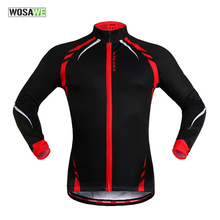 Buy WOSAWE Cycling Jersey Winter Thermal Fleece Man Long Sleeve Windproof Sportswear Ciclismo Ropa MTB Bike Bicycle Cycling Clothing for $29.99 in AliExpress store