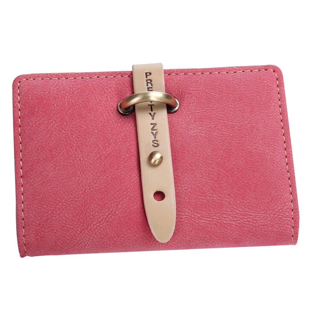 26 Card Bits Credit Card Holder 2016 Fashion Brief Vintage PU Leather Card Holder High Quality Hasp ID Business Card Bags YA0558<br><br>Aliexpress