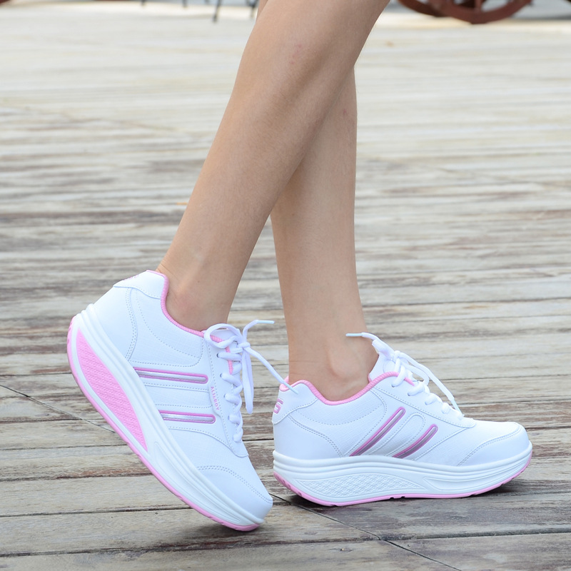 Height Increasing Summer Shoes Womens Casual Shoes Sport Fashion Walking Shoes for Women Swing Wedges Shoes Breathable 35-40<br><br>Aliexpress