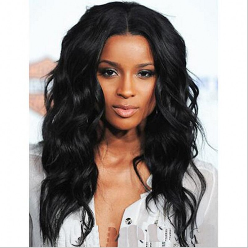 20 Afro Long Curly Black Wig African American Wig For Black Women Synthetic Natural Black Ciara Wig Cheap Fake Hair Lolita Wig<br><br>Aliexpress