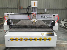 2kw 3kw 4.5kw china manufactured wood cnc router 1325 for door and chair making with vaccum table and dust collector