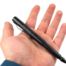 EDC Outdoor Portable Small Tool Aluminum Pen Handmade Metal Neutral Pen Tactical Pen Survival Portable Aluminum Tactical Stick(China)