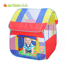 Actionclub Kids Tent Indoor Portable Foldable Tent Baby Educational Crawling Tent Big Capacity Game House Breathable Netting