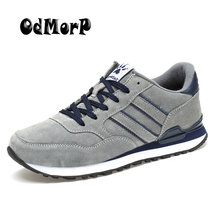 Buy ODMOPR Men Casual Shoes Fashion Design Sneakers Comfort Lightweight Shoes Men Lace-up New Spring Male Footwear for $20.50 in AliExpress store