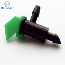 16L/H Flag Drip Emitters Outlet Barb For Use With 1/4in. Micro Tubing Drip Irrigation Fittings Take Apart N108(China)
