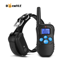 DEIRYLE Best 300m Remote Waterproof Dog Training Collar,Electronic Shock Training Collars for sale