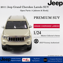 Maisto 2011 Jeep Grand Cherokee Laredo SUV 1:24 scale diecast model gold car model