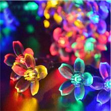 led string6M 40led AA battery led cherry blossom tree light luminarias home decoration RoHS CE led christmas decoration