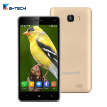 Original VKWORLD T5  Smartphone 5.0 Inch MT6580 Quad-Core Dual SIM  Cell Phone 2GB RAM 16GB ROM 8MP 3G GPS WIFI Mobile Phone