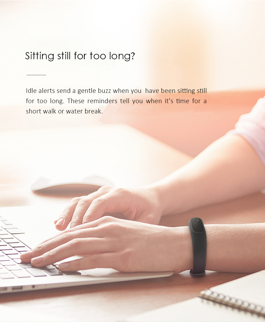 Original Xiaomi Mi Band 2 Wristband Optional Colorful Straps Sleep Tracker IP67 Waterproof Smart Mi Band For Android IOS Phones 7