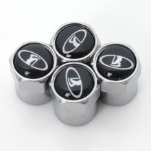 Car Tire Valve Caps fit for lada niva kalina priora granta largus UAZ badge accessories 4pcs/set