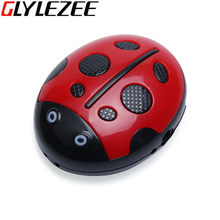 Glylezee Beetle MP3 Mini Digital USB MP3 Music Player Sport TF Card Slot with 5 Colors