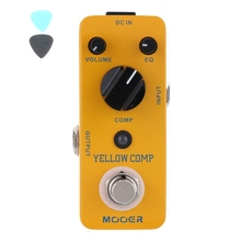 MOOER Yellow Comp Micro Mini Optical Compressor Effect Pedal Electric Guitar True Bypass Guitar Accessories(China)