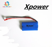 1pcs 7.4 V 1500mah Xpower li-po lipo battery for DH9053 9101 mjx f45 9118 rc Helicopter parts(China)