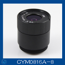 "3MP. cctv camera lens 8mm Fixed Iris lens, 1/2.5"" cs  for Security Camera, Free shipping.CYM0816A-8"