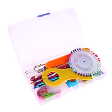 73pcs/set Multi-colour Aluminum And Silver Crochet Hooks Needles Stitches Knitting Craft Case DIY Weave Craft Yarn Tool Kit