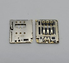 20pcs/lot Original SIM Card Slot Tray Reader Connector Holder Socket for Sony T3 M50W For Blackberry Q5 Z30 Cell Phone Replac