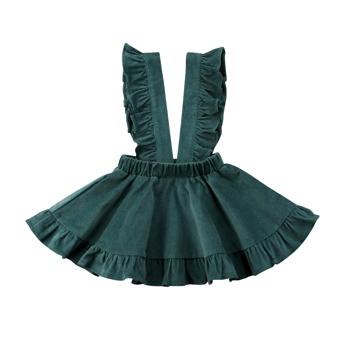 Toddler Baby Kids Girls Infant Strap Suspender Skirt Overalls Outfits Summer Girl Clothes 2-6 Years