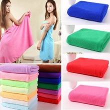 Free Shipping Microfiber Bath Towels High Quality 70x140cm Big Size Sports Quick Dry Gym Swimming Travel Beach Towel For Adults