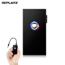 Replaitz Wireless Bluetooth Car Kit Bluetooth V4.1 Transmitter Receiver 3.5mm Aux Connecting for earphone PC iOS Android Phone(China)