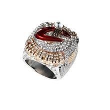 Official Version 2016 Cleveland The Cavaliers National Basketball Solid Championship Ring Size 8-14  no 3D Mark inside