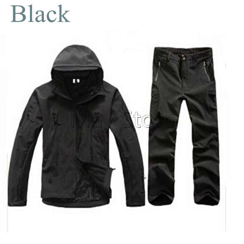 fa0ff16da Tactical Winter TAD Gear V 4.0 Combat Uniform Hoodie Soft Shell SharkSkin  Waterproof Fleece Coat Jacket