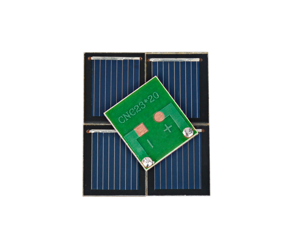 Aoshike pcs 0.5V 80MA polycrystalline silicon solar cell panel DIY technology Small production material 5