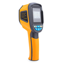 HT-02 Infrared Thermometer Handheld Thermal Imaging Camera Portable IR Thermal Imager Infrared Imaging Device