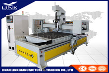 Vacuum table atc cnc router 1325 HSD 9KW / automatic tool change cnc router for wooden door