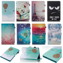 "For Amazon Kindle Fire HD 8""  8inch Tablet Case Eiffel Tower balloo PU Leather Flip Cover Case for Fire HD 8 6th Generation 2016"