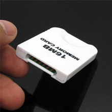 New Stylish Best Promotion 16MB 16M Memory Storage Card Save Saver For Nintendo For WII For GameCube New White