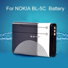Battery for NOKIA BL-5C 3110 N70 6630 6680 6230i 2310 3650 3660 3.7V 1020MAH Replacement Mobile Phone Built-in Lithium Battery(China)