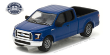 Green Light 1:64 2016 Ford F-150 Pickup Trucks 100 Years boutique alloy car toys for children kids toys Model original box