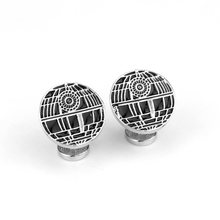 British Men's Shirt Metal Alloy Cuff Sleeve Button Pins High Quality Cufflinks Star Wars Men's Jewellery