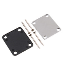 Hot Sale Electric Guitar Neck Plate Neck Plate Fix Tele Telecaster Guitar Neck Joint Board High Quality