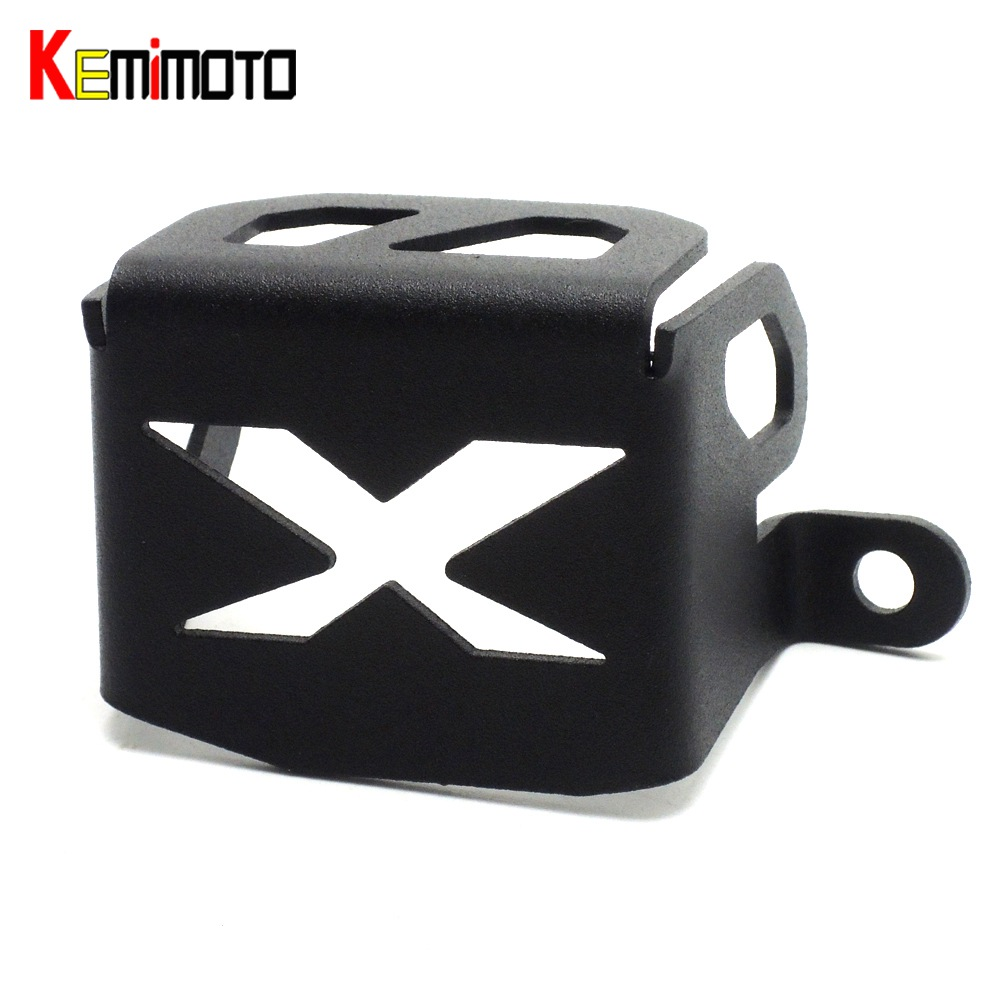 KEMiMOTO Rear Brake Reservoir Guard Protective Cover Protector for Honda CRF1000L CRF 1000L Africa Twin 2016 2017<br>