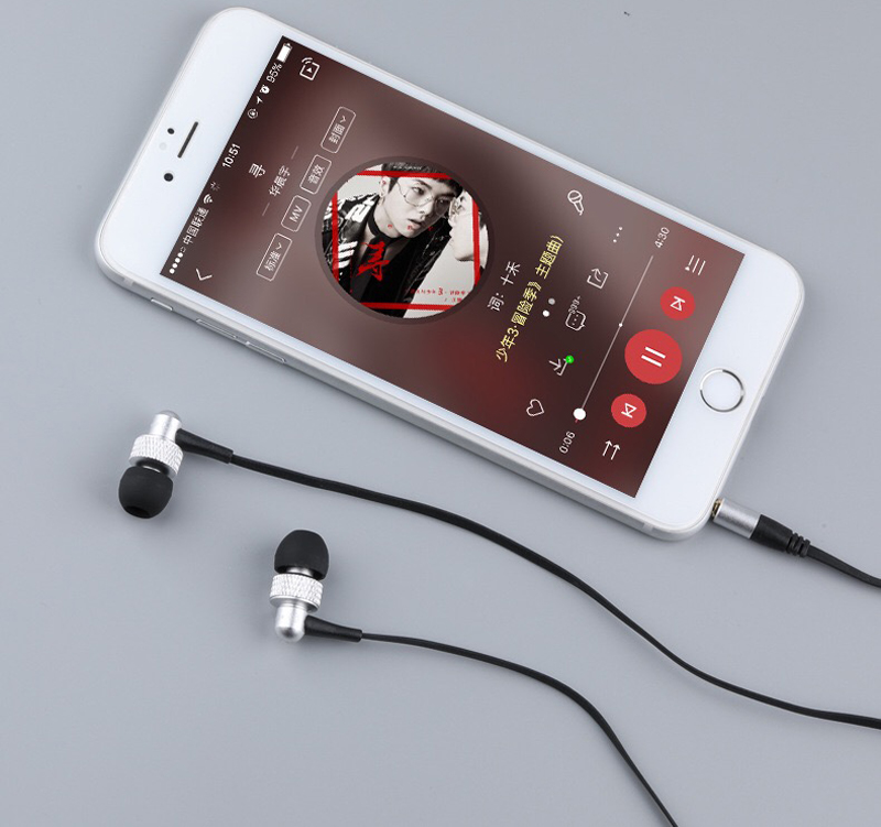 Awei Earphone Earbuds Headset With Mic For iPhone Andriod Phone ES-390i