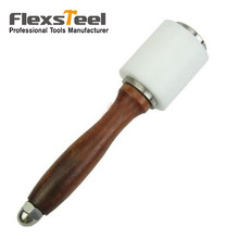 Leathercraft Nylon Mallet Carving Hammer Sew Leather Cowhide Tool Kit With Wooden Handle