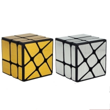 Brand New Mofangjiaoshi WindMirror Cube 3x3x3 Puzzles Speed Mirror Cube 57mm Windmill Magic Cube Educational Toys