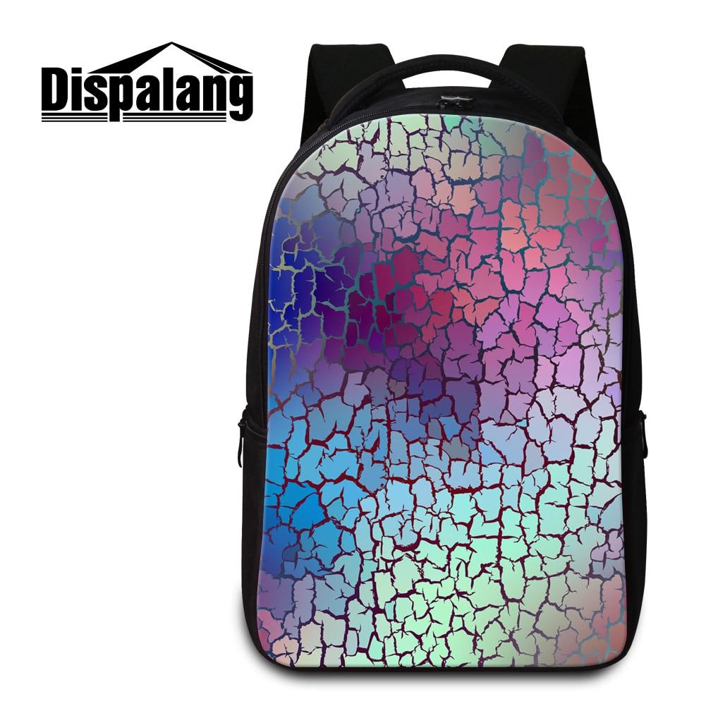 Dispalang 3D printing women backpacks mens laptop school bagpack ladies travel rucksack practical bookbags for students mochila<br>