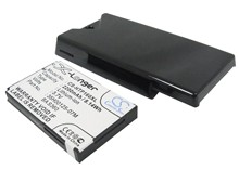 Battery For HTC For Topaz 100, For Touch Diamond 2, T5353 (2200mAh) Extended with Cover(China)