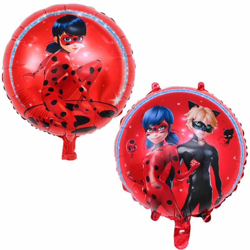 a7b5447fd 1 piezas pieza mariquita chica globos de dibujos animados rojos doble y  solo juguetes linda Mariquita