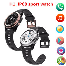 H1 Android MTK6572 IP68 Waterproof Watch Phone GPS Tracking Function SIM Card Sports Watch Wrist Watch PK Q7(China)