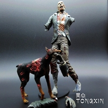 Limited! 18cm  High Classic Toy  the  walking dead  Resident Evil Zombie Lost dog    McFarlane action figure Toys