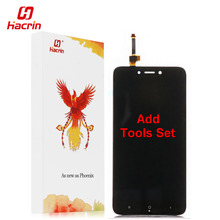 hacrin Xiaomi Redmi 4X LCD display Touch Screen Test Good Digitizer Assembly Replacement For Xiaomi Redmi 4X Pro 5.0 inch Phone