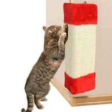 Large 23*49CM Pet Kitten Corner Sisal Wall Scratcher Protect Wall Furniture Cat kitty Hanging Scratching Post Board random sale(China)