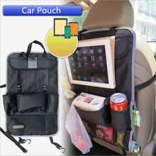 Car storage bag oxford hang bags back of the chair six colors high capacity multimedia storage bags SB014