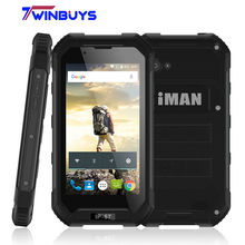 Waterproof iMAN X5 Mobile Phone IP67 4.5 inch MTK6580 Quad Core Android 5.1 1GB RAM 8GB ROM 5MP GPS 3000mah 3G WCDMA Smartphone