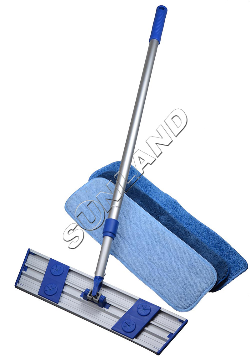 Sinland Microfiber Dust Mop Lightweight Rotating Mop Telescoping Aluminum Handle with 3 Free Microfiber Mop Pads(China)